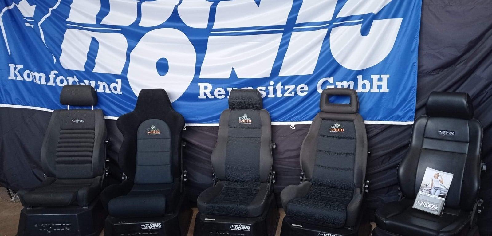 Les sièges König sont chez ModulAuto
