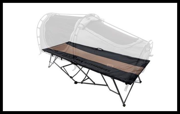 Un lit ARB pour dormir confortablement dehors
