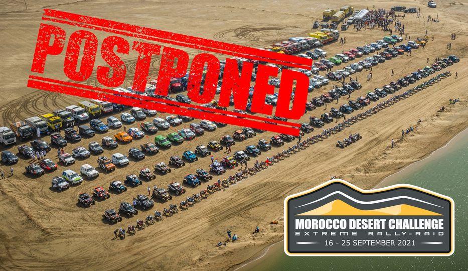 Le Morocco Desert Challenge reporté