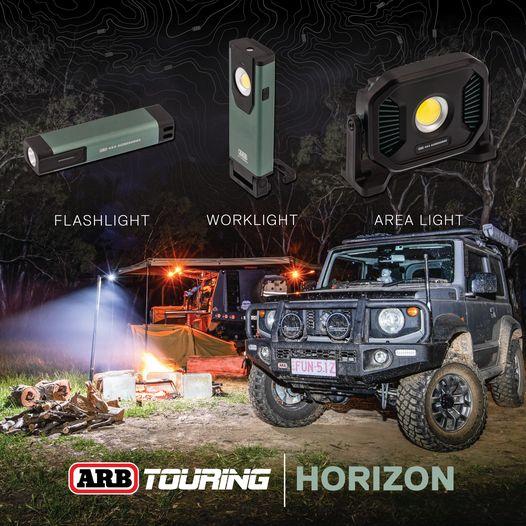 Éclairez vos bivouacs avec les ARB Horizon
