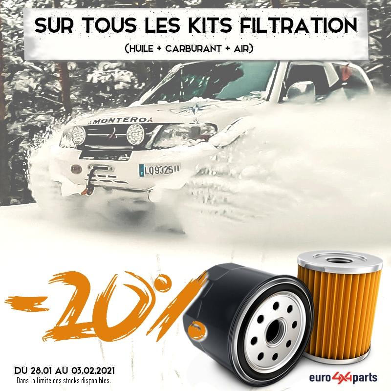 Promo Euro4x4parts sur la filtration