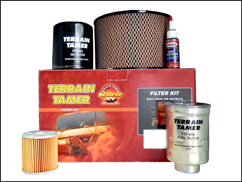 Terrain Tamer propose des filtres renforcés