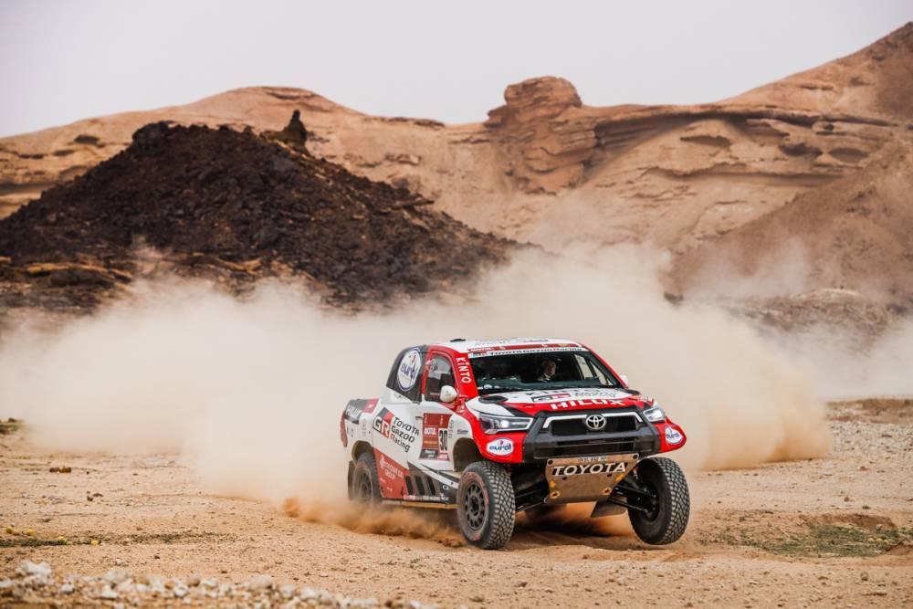 Dakar 2021 : Les Français malheureux au stage 5