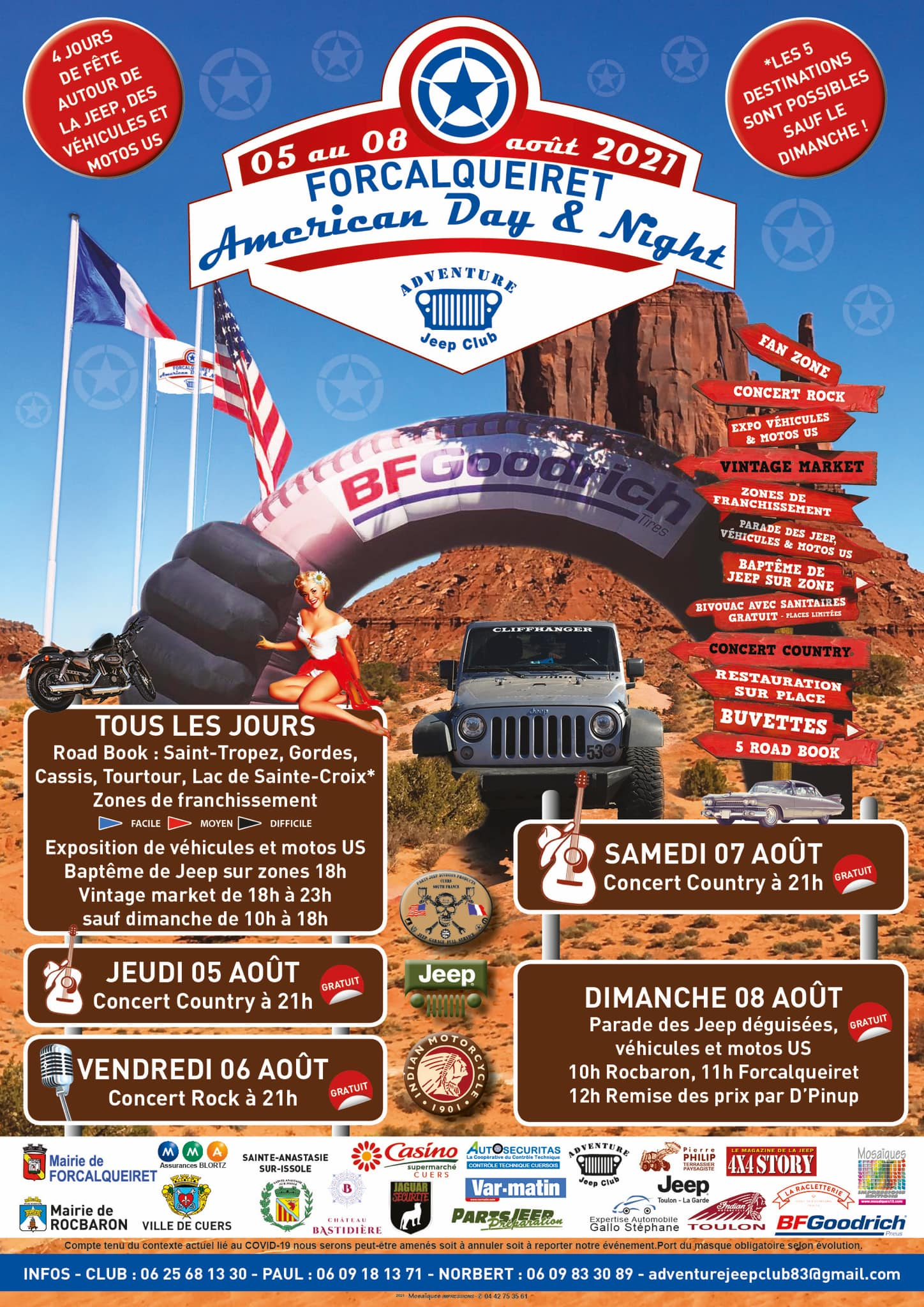 American Day & Night 2021 : les dates