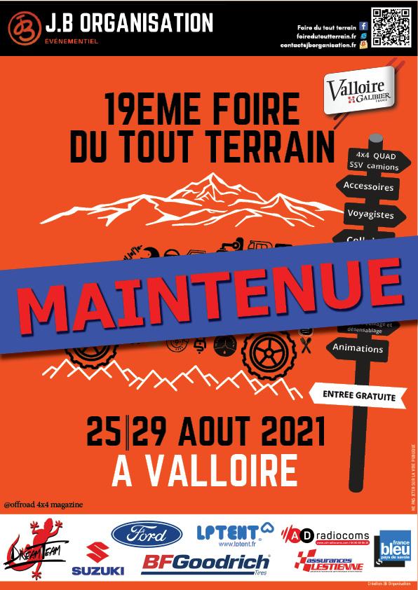 La Foire TT de Valloire 2021 est maintenue !
