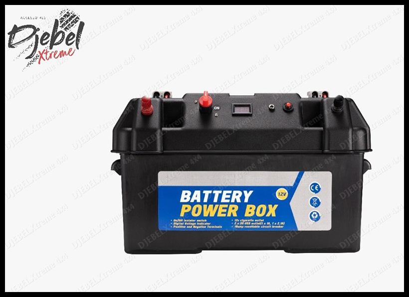 Le bac batterie pré-cablé by Djebel Xtreme