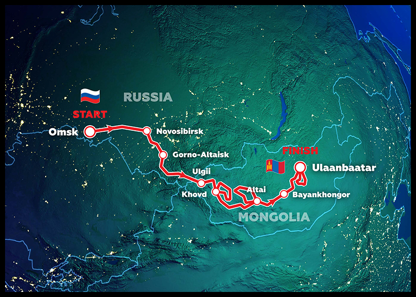 Silk Way Rally 2021 : dates et parcours