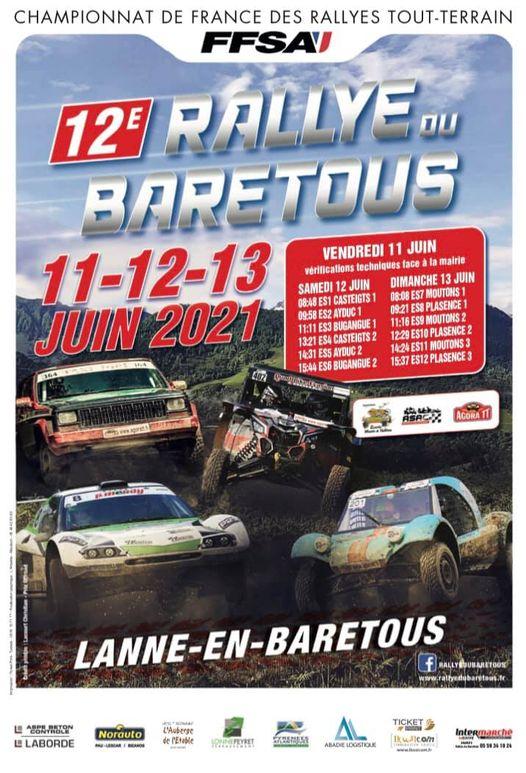 RDV au Rallye du Baretous 2021