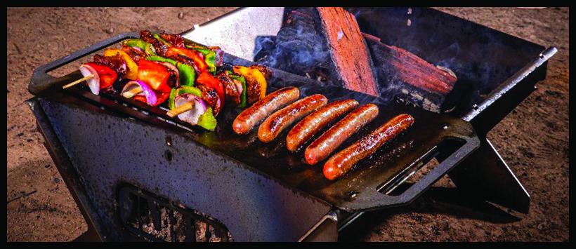 Un barbecue pliable made in ARB
