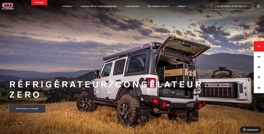 ARB Europe lance son site en français