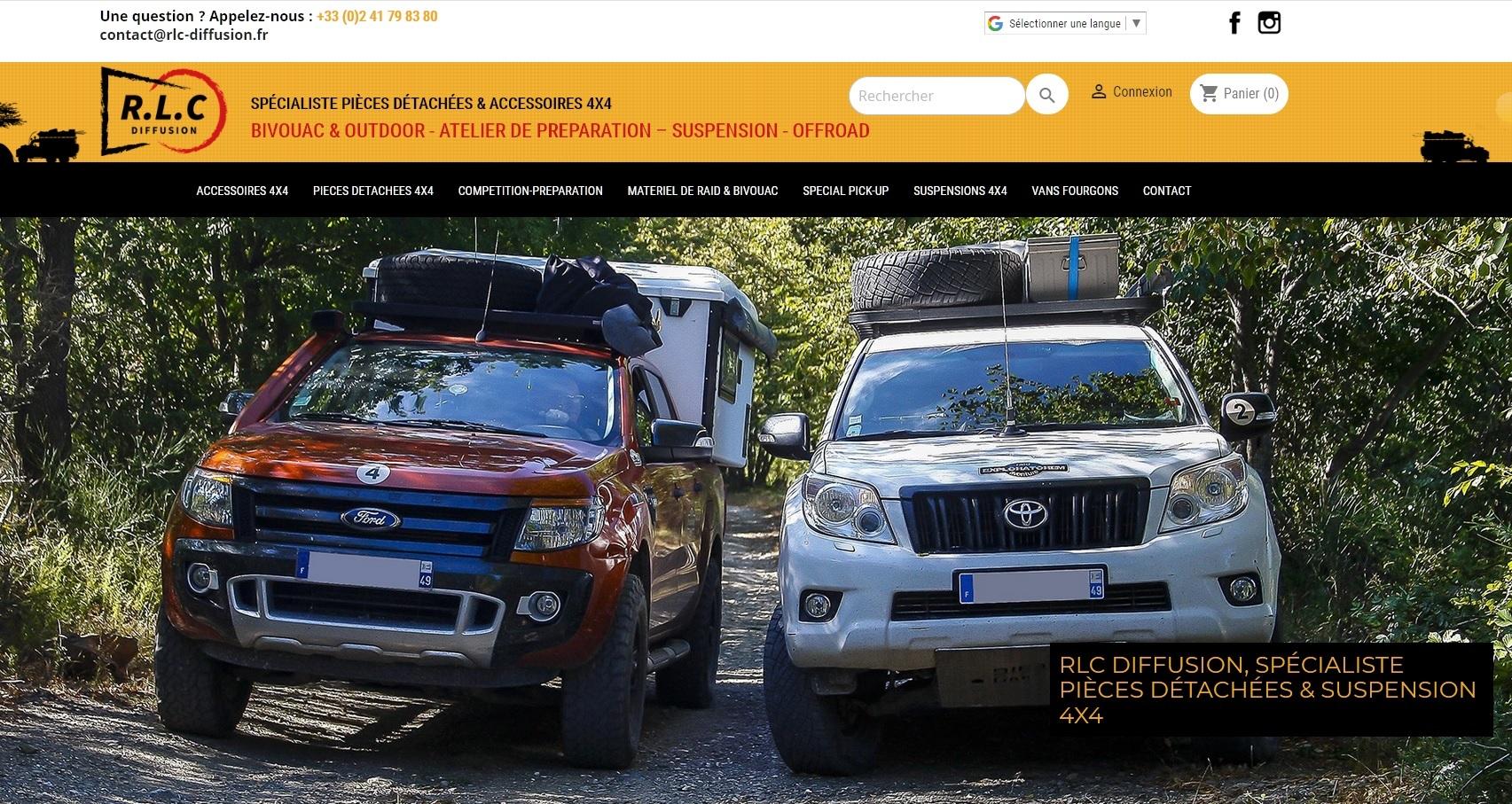 RLC Diffusion lance un nouveau site