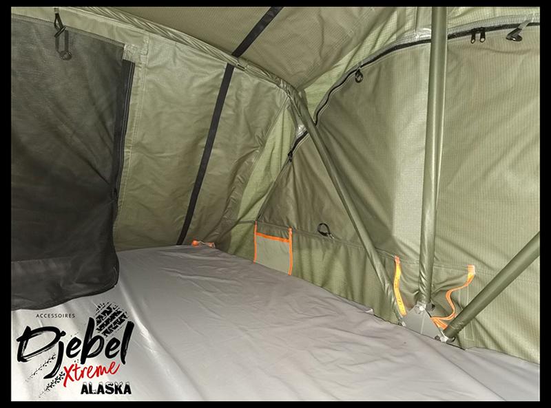 Alaska : la nouvelle tente Djebel Xtreme