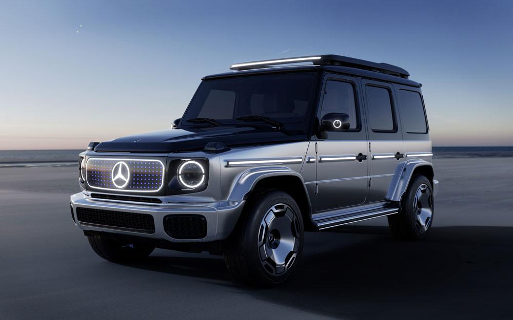 Mercedes électrifie son Class-G