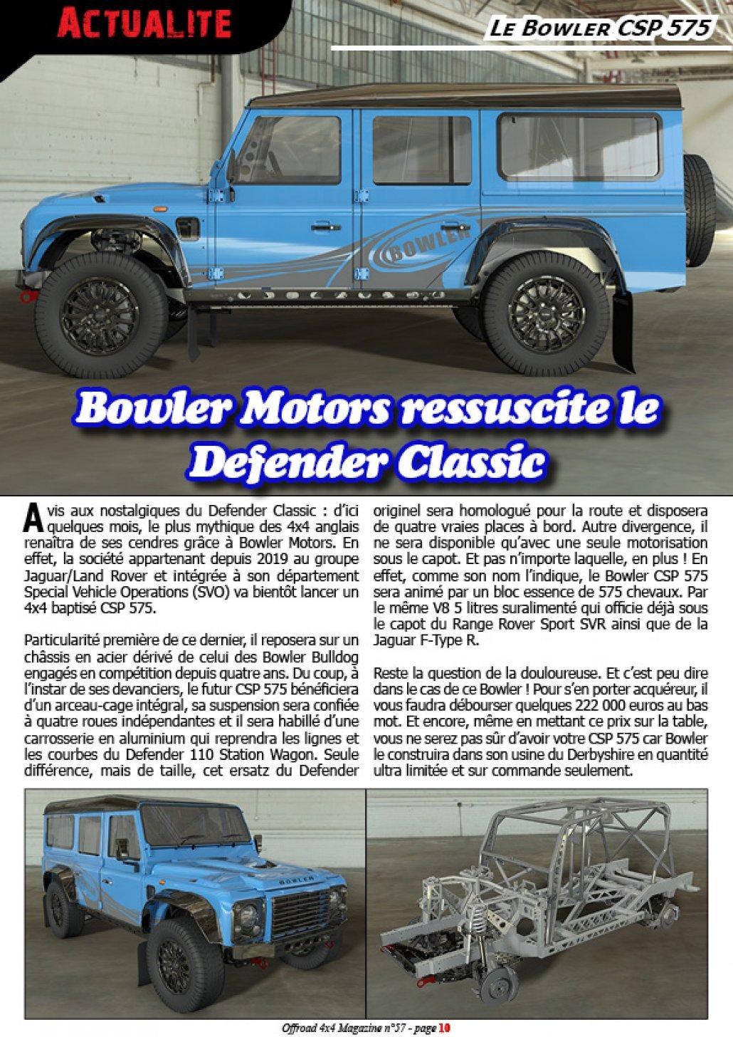 Le Bowler CSP 575