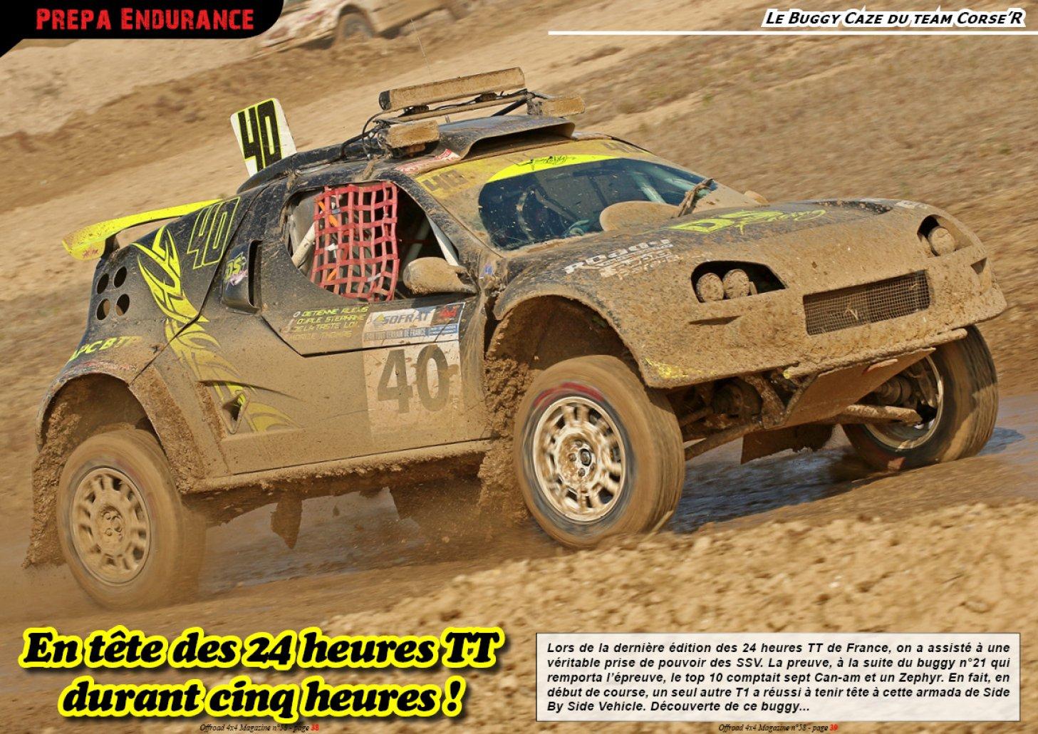 Le Buggy Caze du team Corse'R