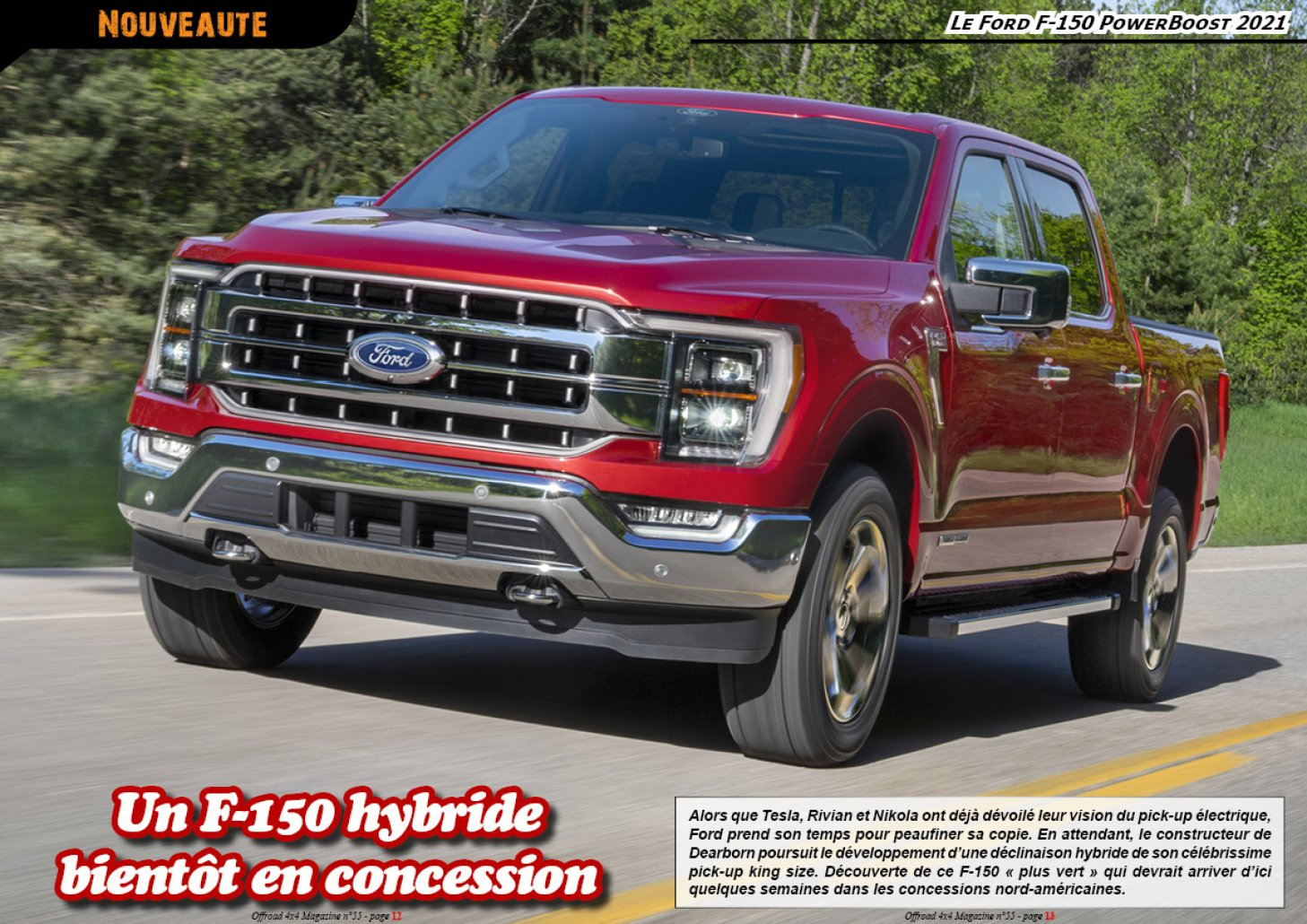 Le Ford F-150 PowerBoost 2021
