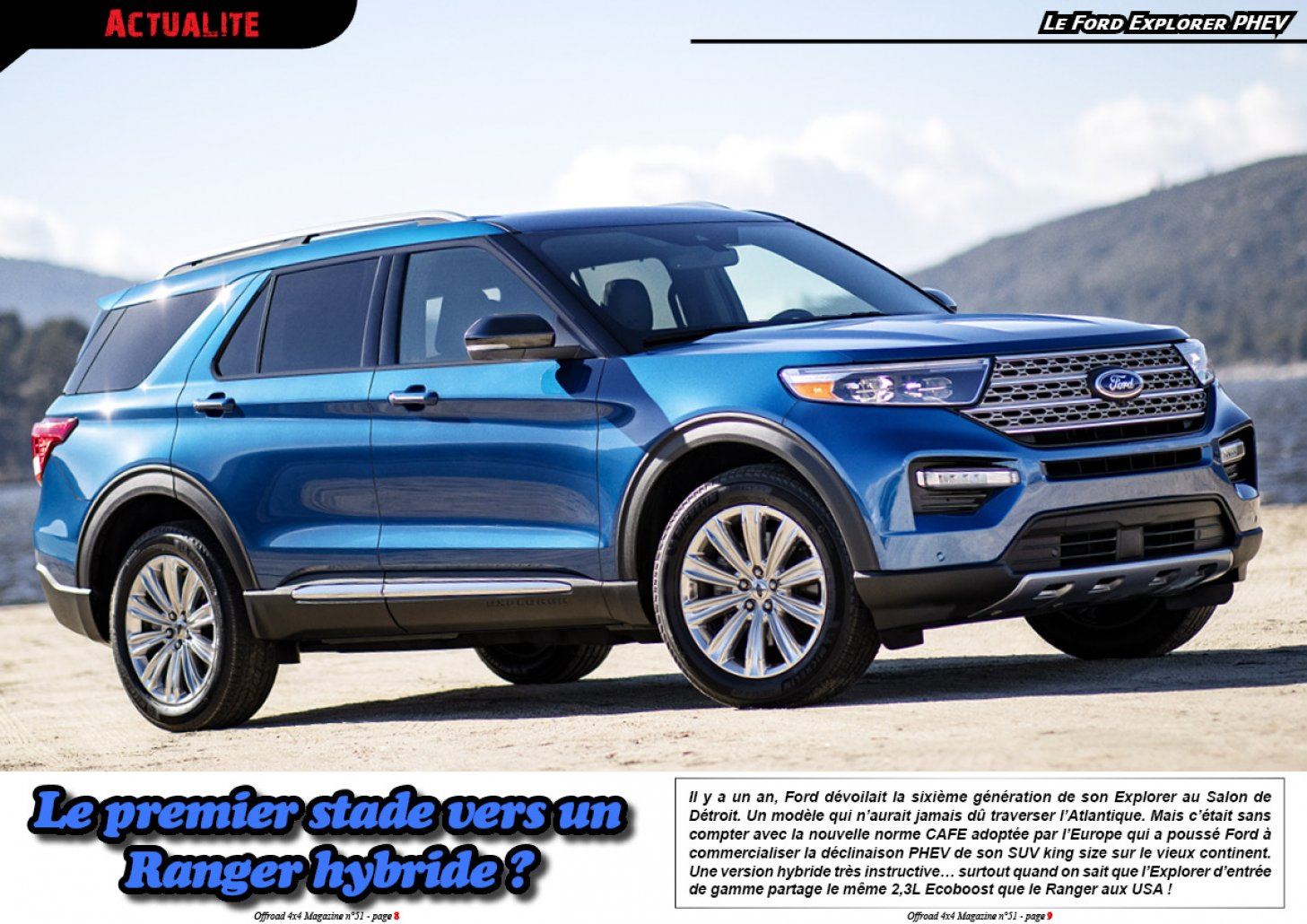 Le Ford Explorer PHEV