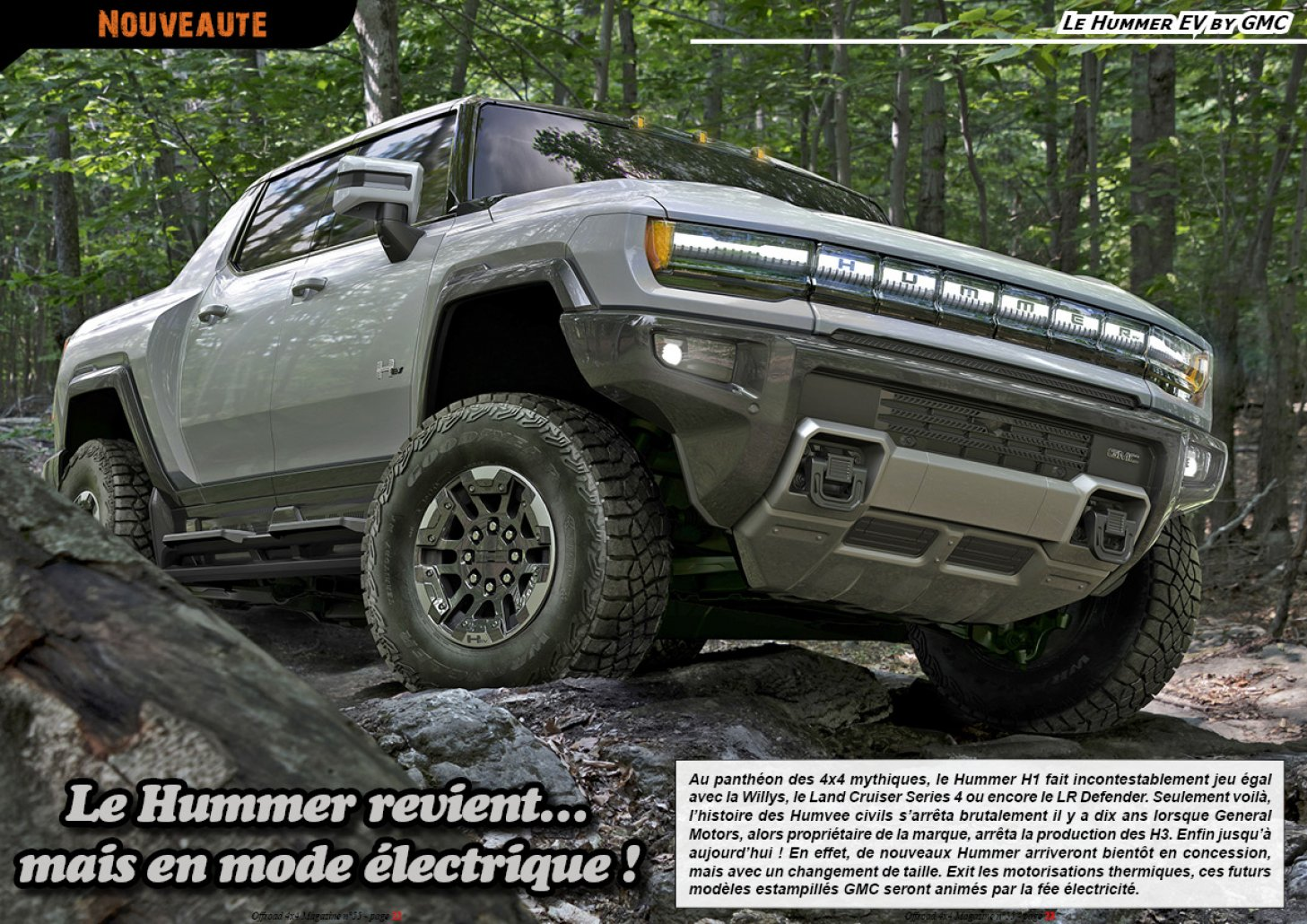 Le Hummer EV by GMC