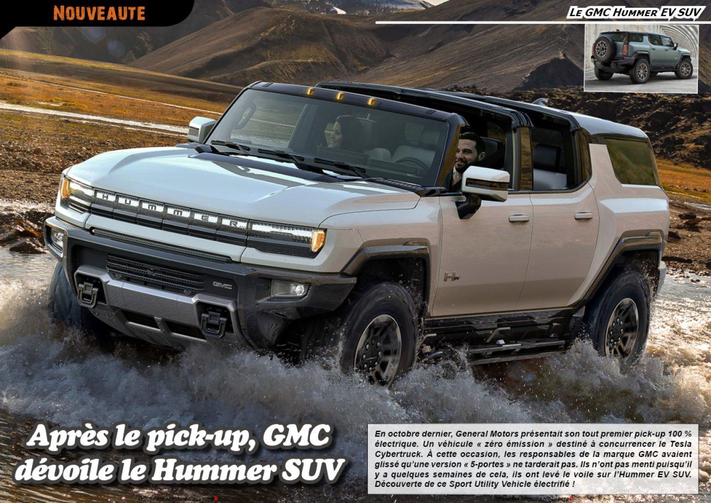 Le GMC Hummer EV SUV