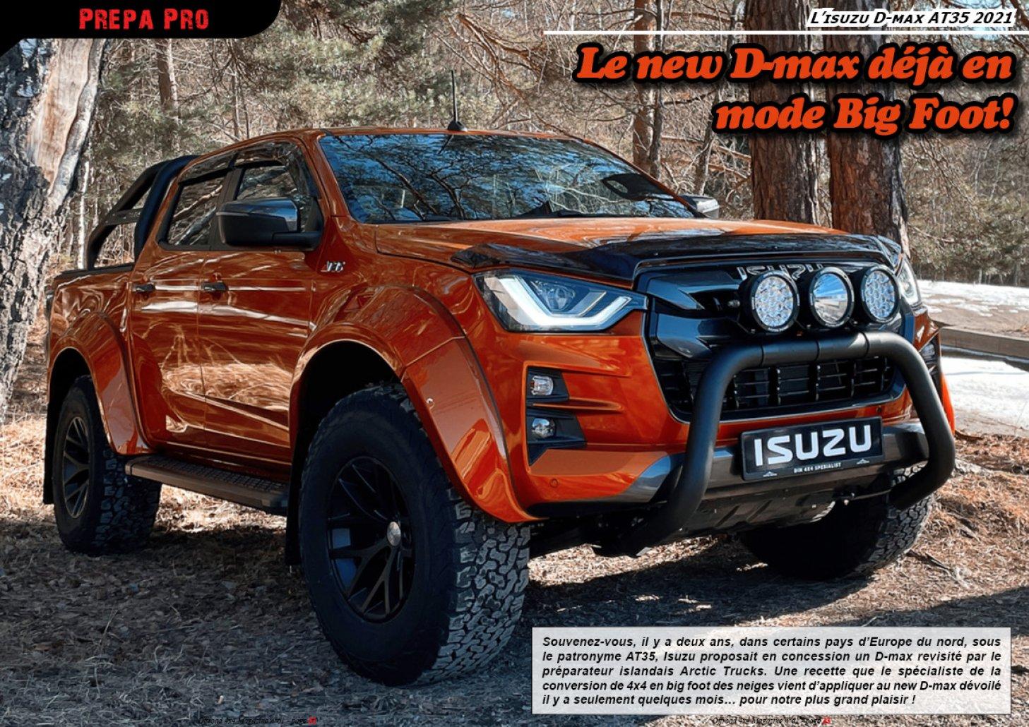 L' Isuzu D-max AT35 2021