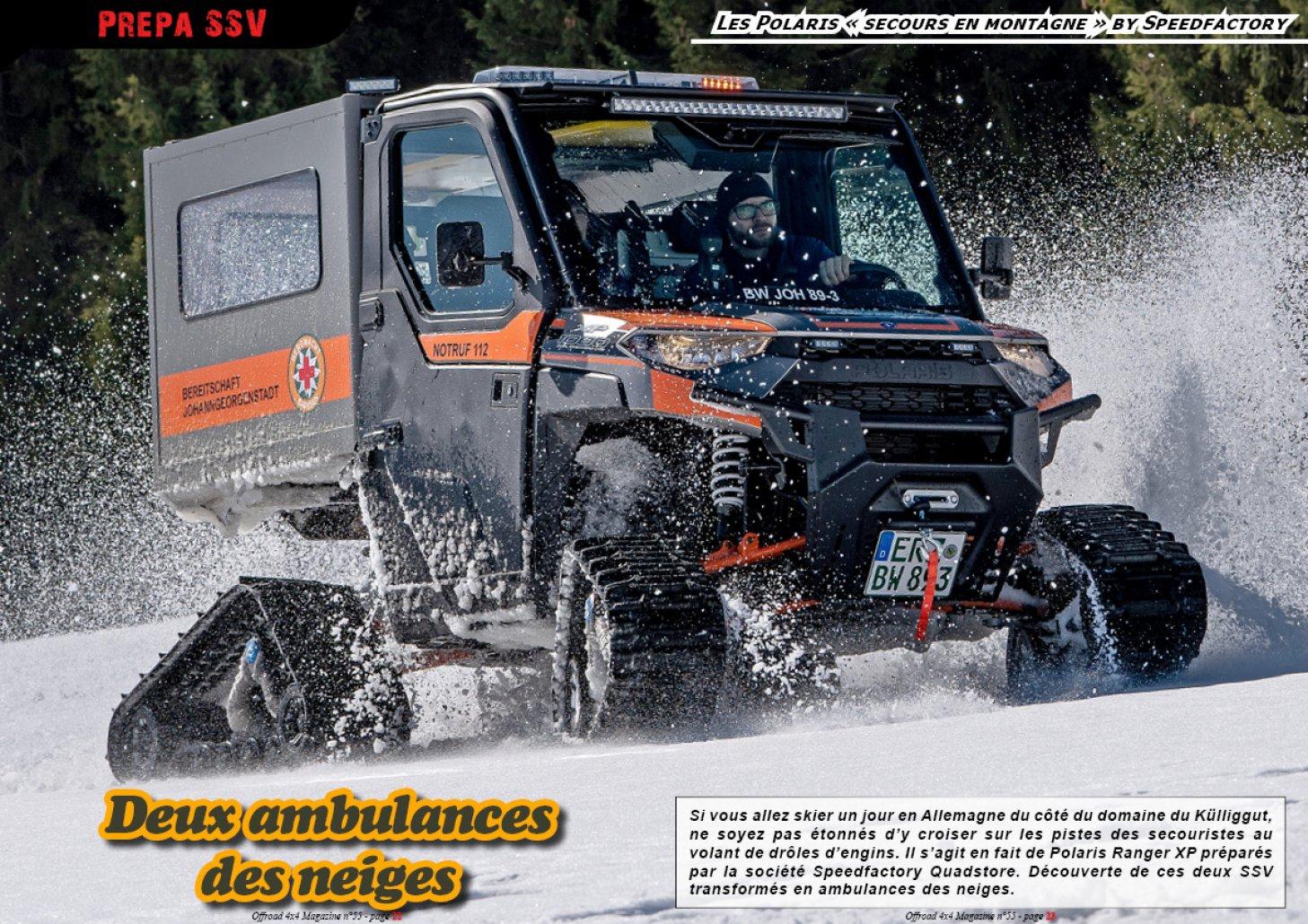 Les Polaris des neiges by Speedfactory