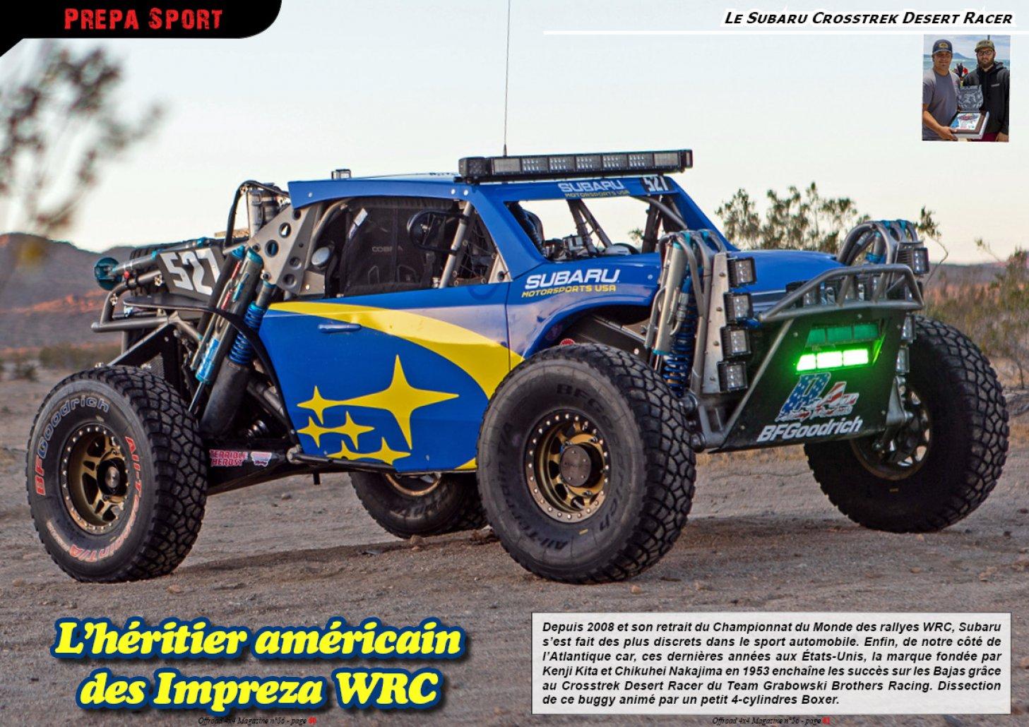Le Subaru Crosstrek Desert Racer