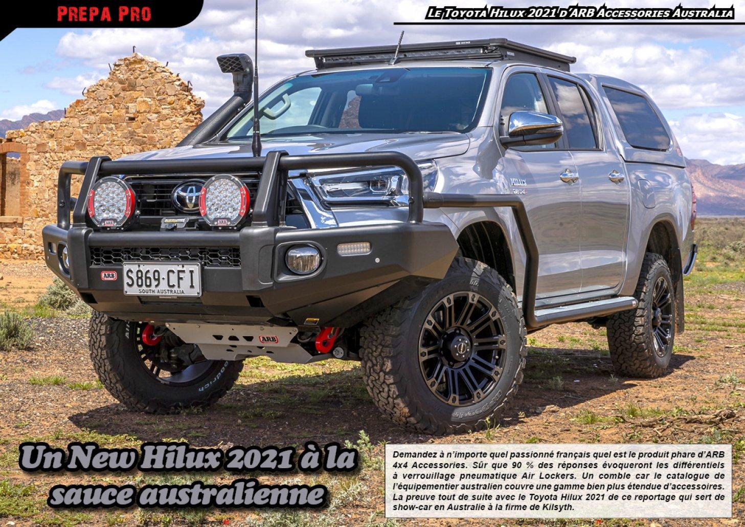 Le Toyota New Hilux d'ARB Accessories