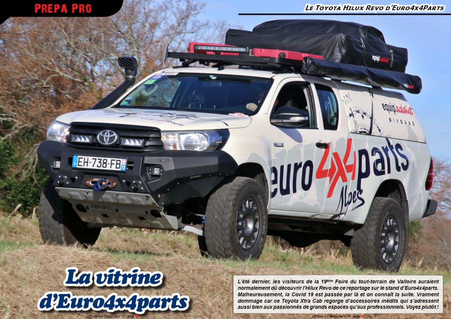 Le Toyota Hilux Revo d'Euro4x4Parts