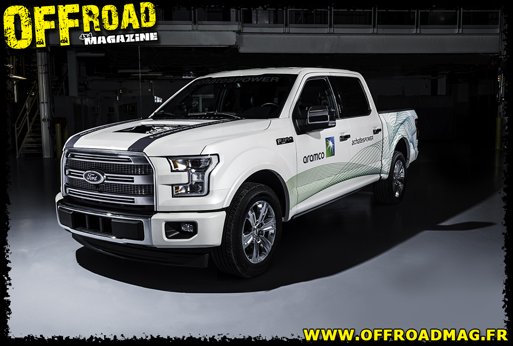 Le Ford F-150 Achates Power