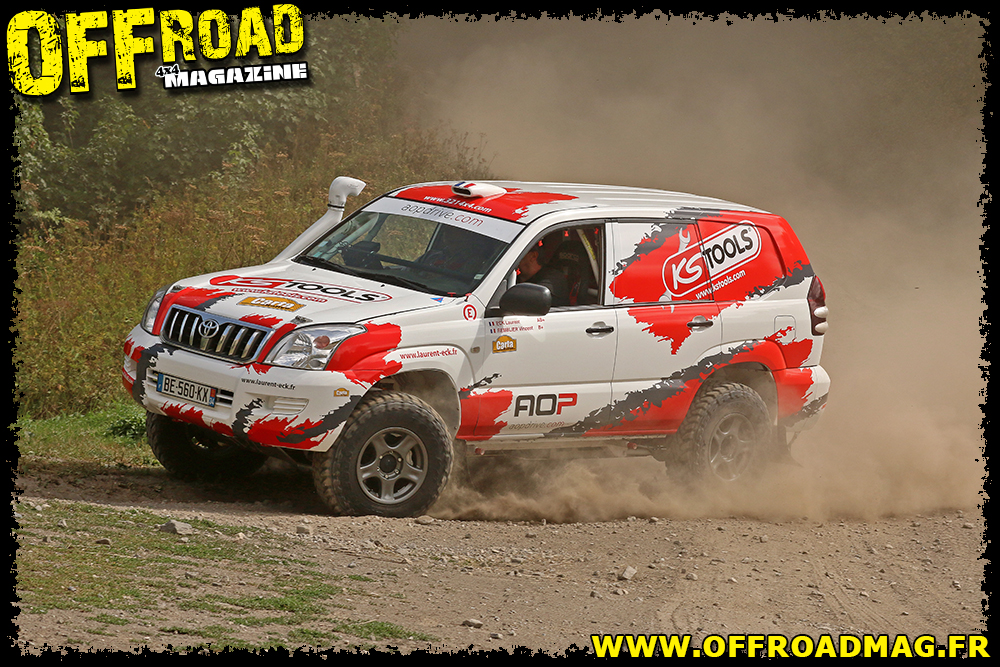Le Toyota KDJ 120 de Laurent Eck