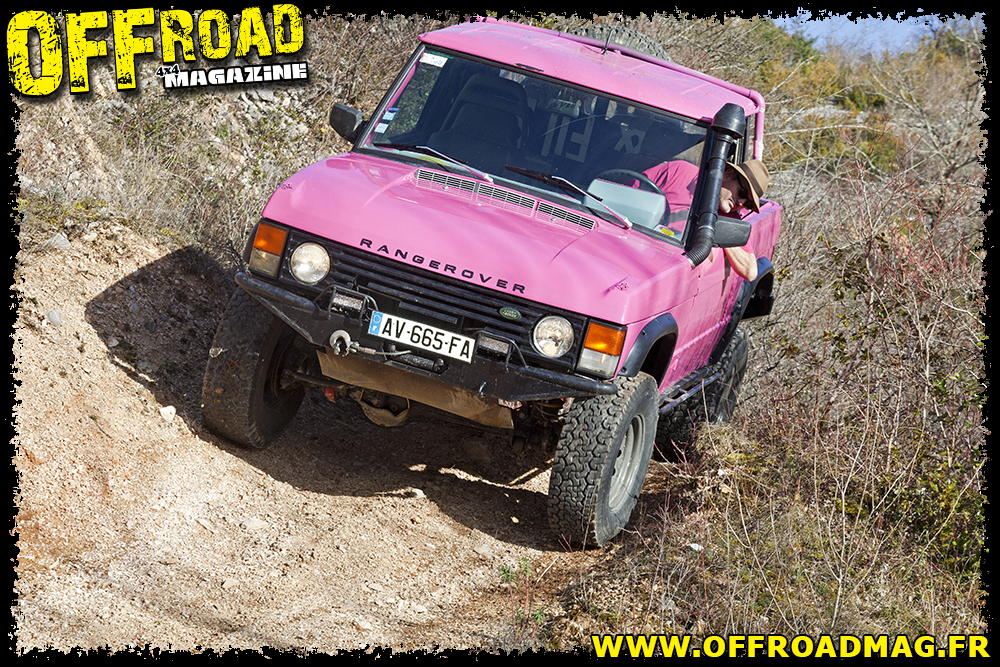 Le Range Rover pick-up d'Olivier Borie
