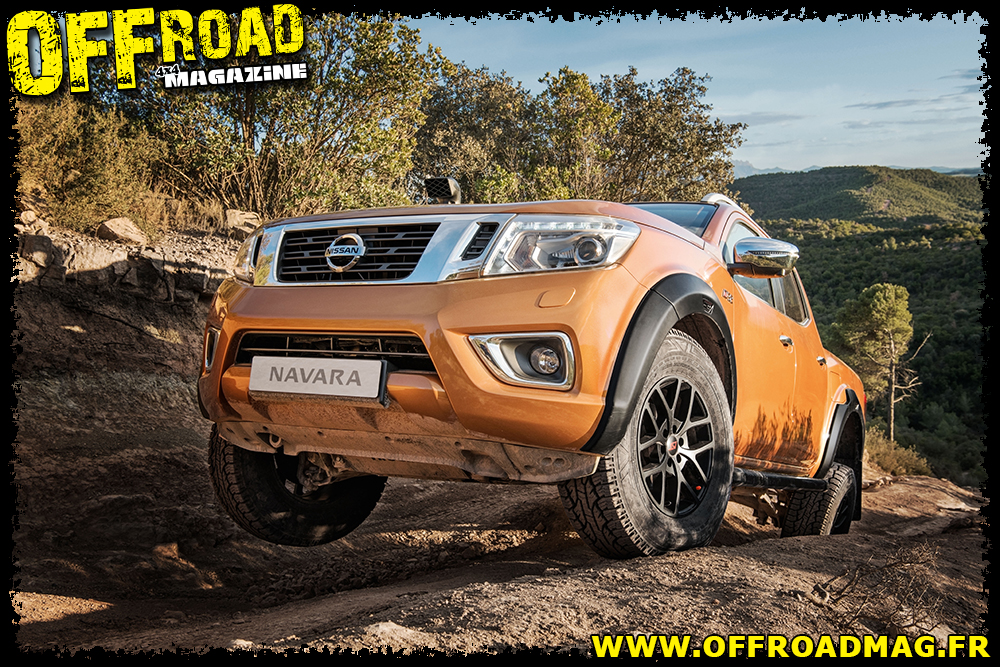 Le Nissan Navara Off-Roader AT32