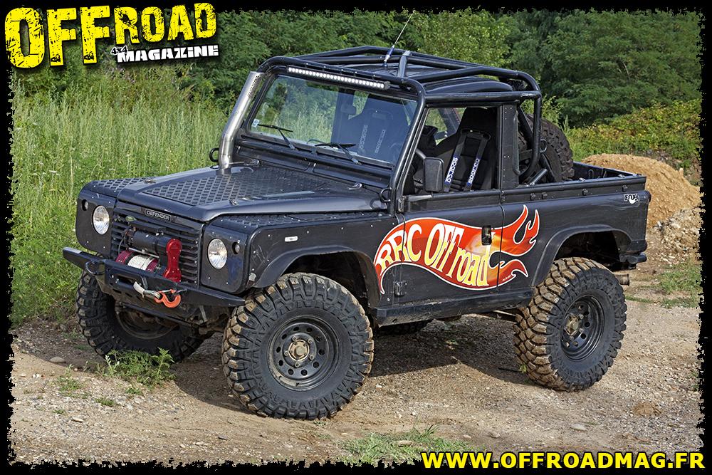 Le LR Defender 90 Td5 de Rudy Roquesalane