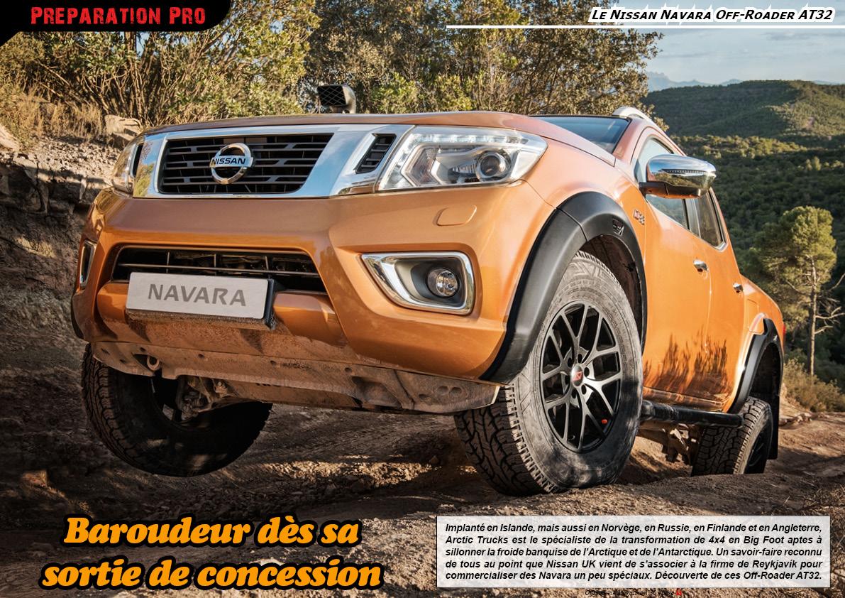 le Nissan Navara Off-Roader AT32