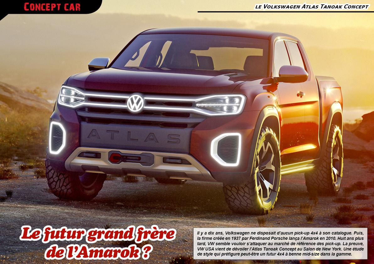 le Volkswagen Atlas Tanoak Concept