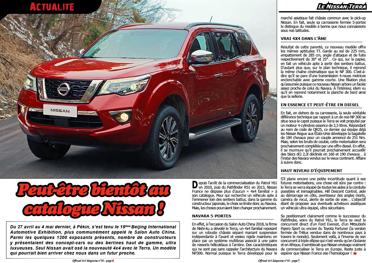 le Nissan Terra