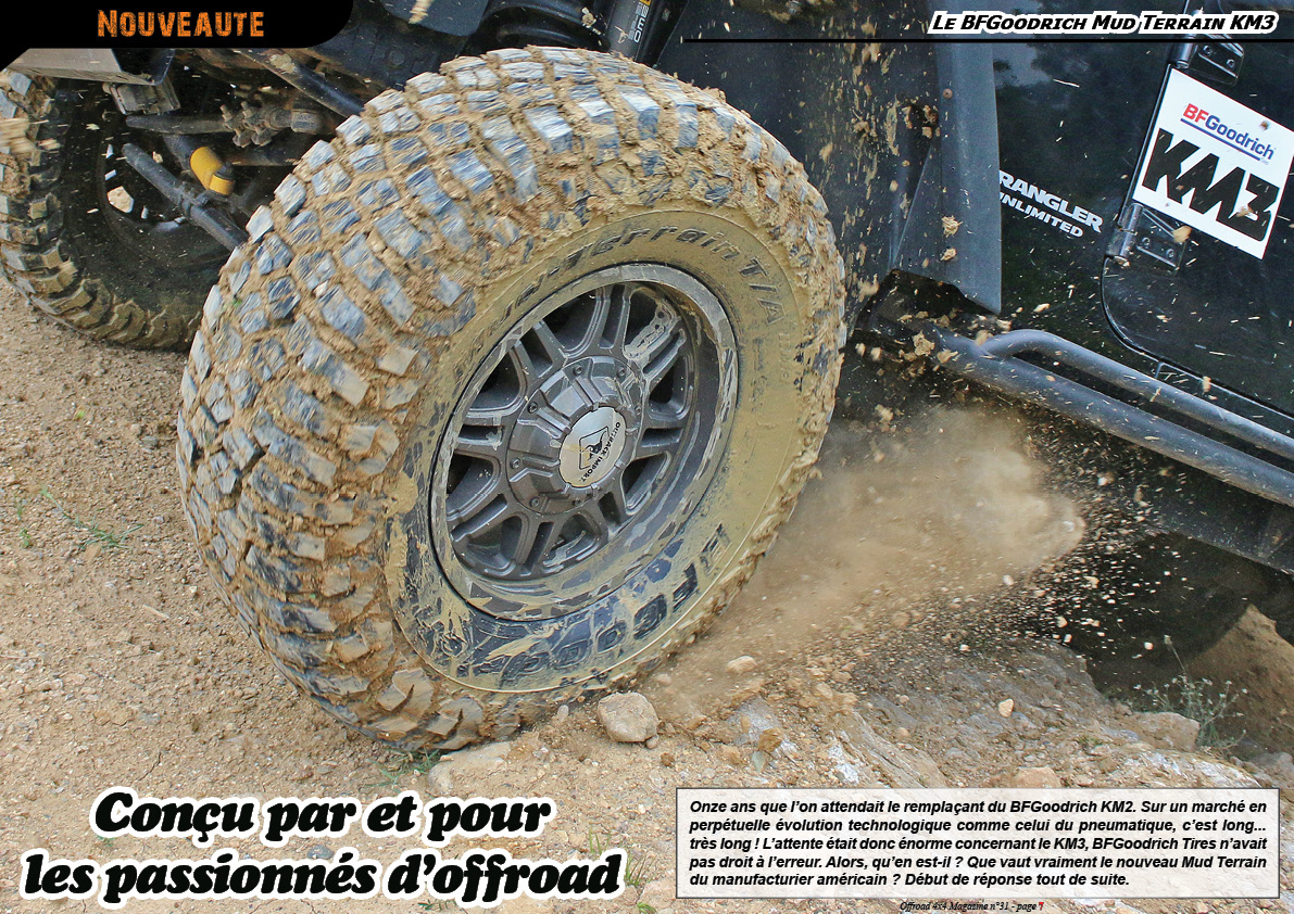 Essai du BFGoodrich Mud Terrain KM3