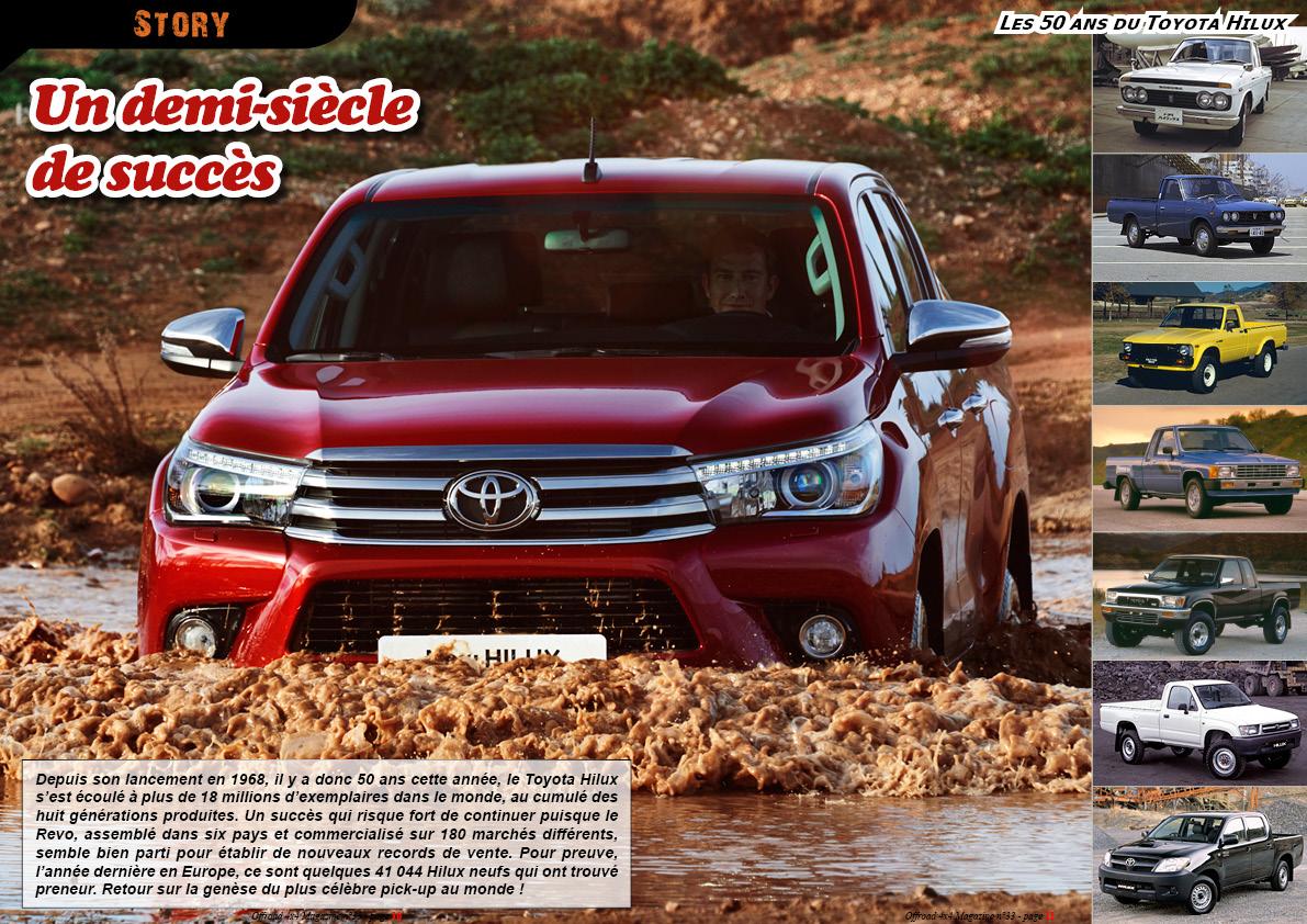 les 50 ans du Toyota Hilux