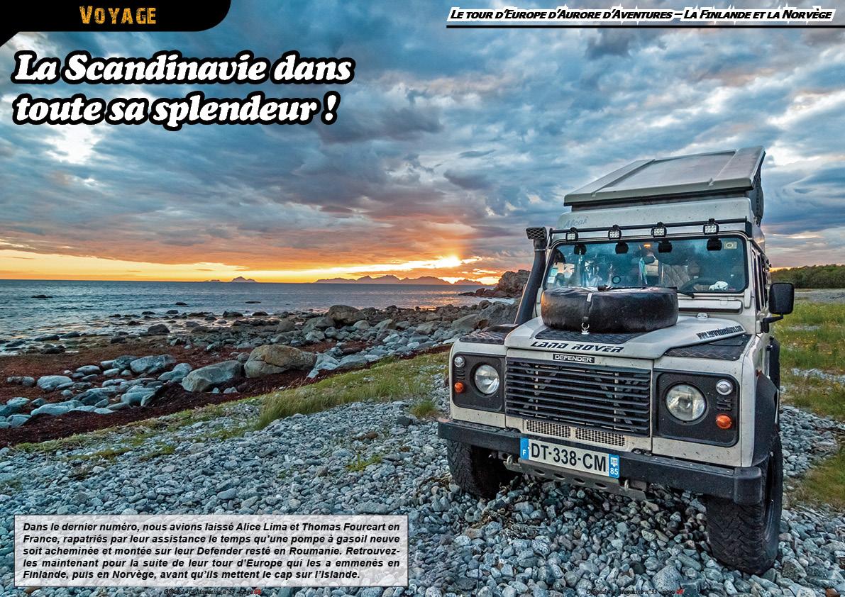 le tour d'Europe d'Aurore d'aventures (la Scandinavie)