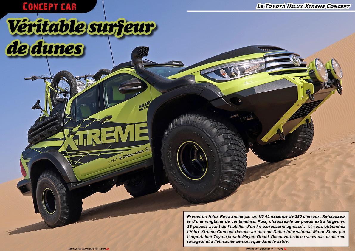 le Toyota Hilux Xtreme Concept