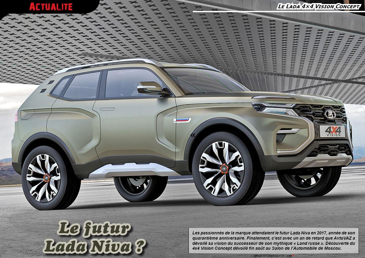 le Lada 4x4 Vision Concept