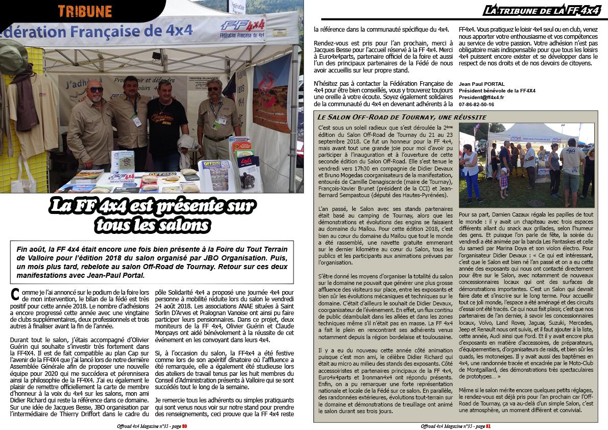 La Tribune de la FF 4x4