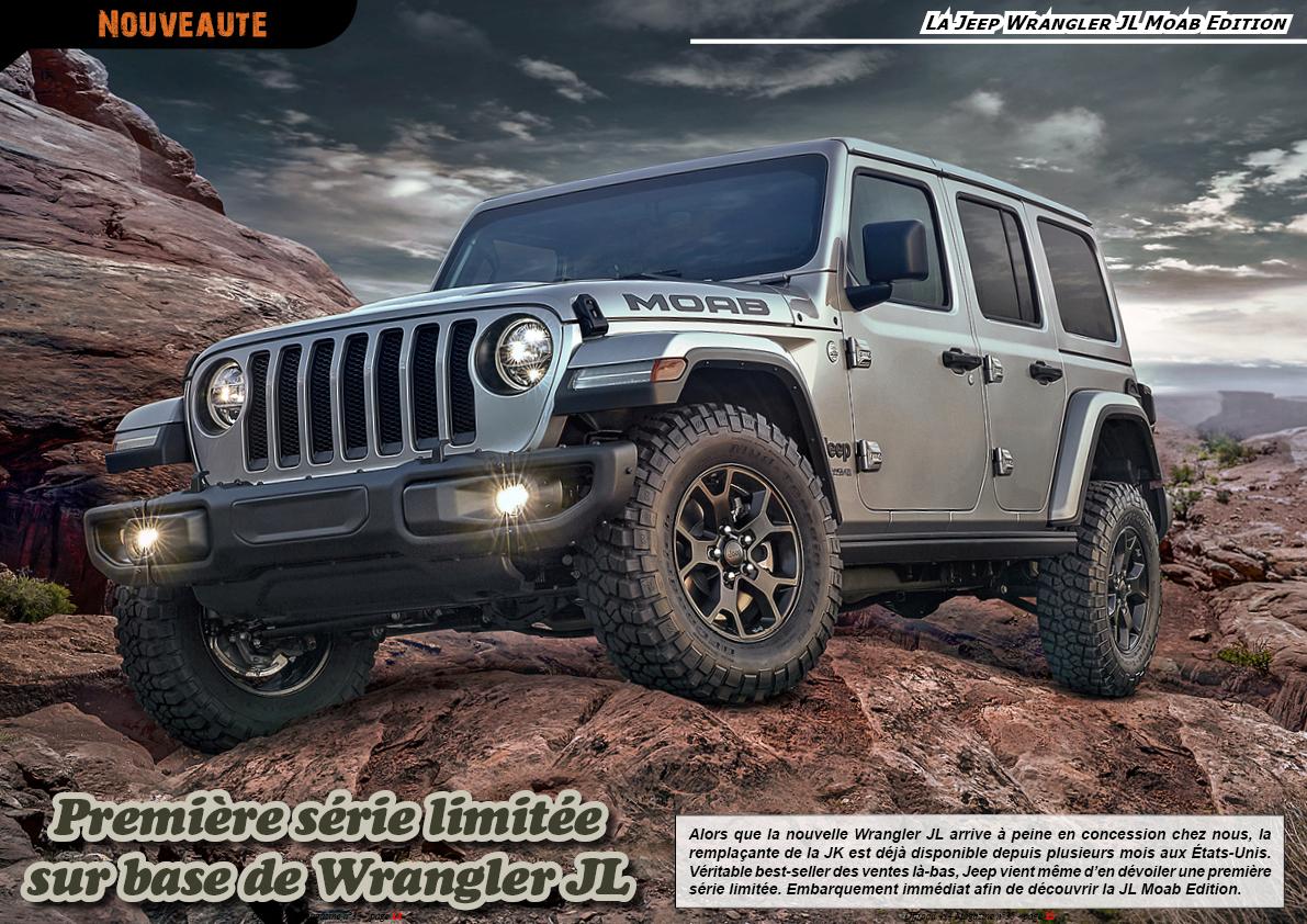 La Jeep Wrangler JL Moab Edition