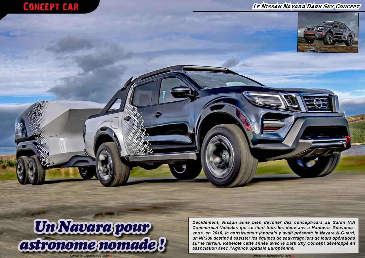 Le Nissan Navara Dark Sky Concept