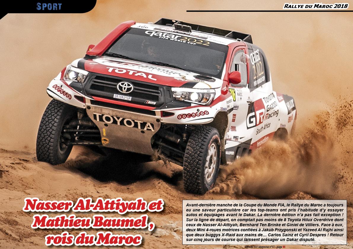 Le Rallye du Maroc 2018