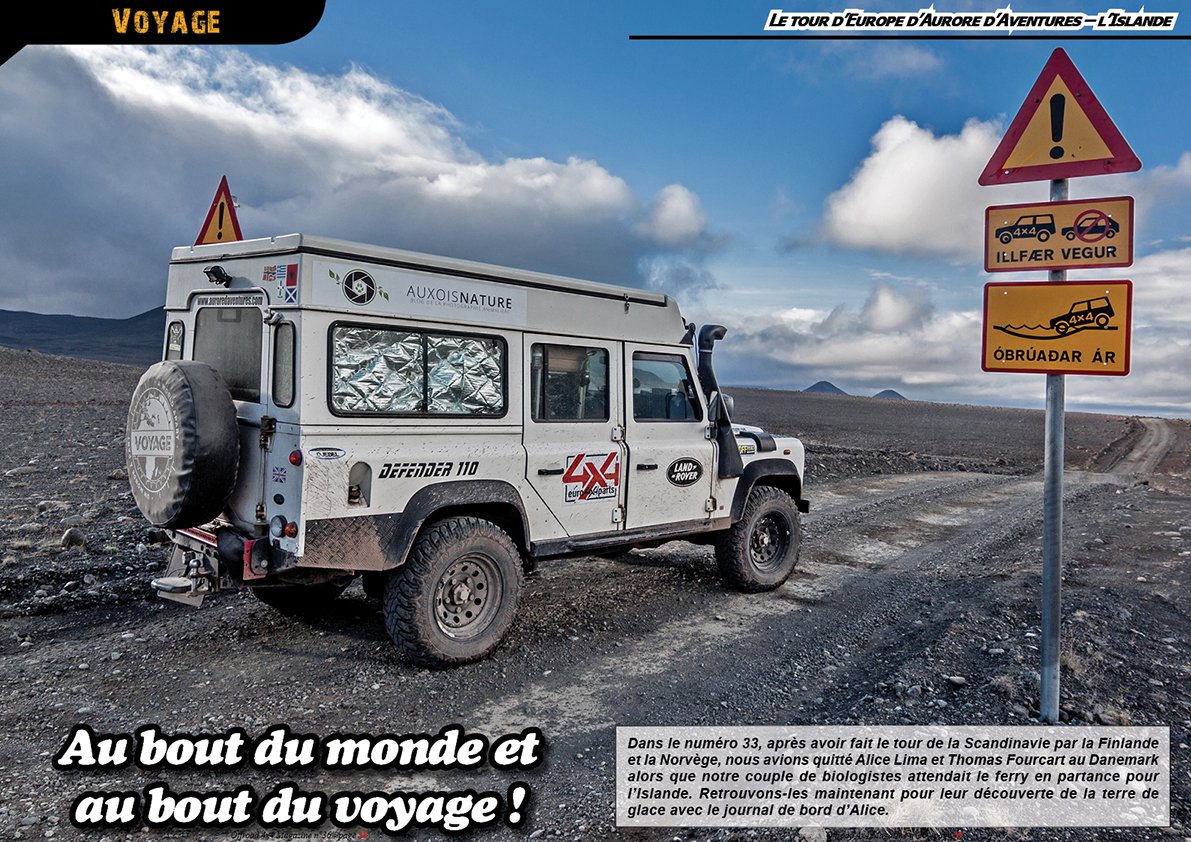 le tour d'Europe d'Aurore d'Aventures – l'Islande