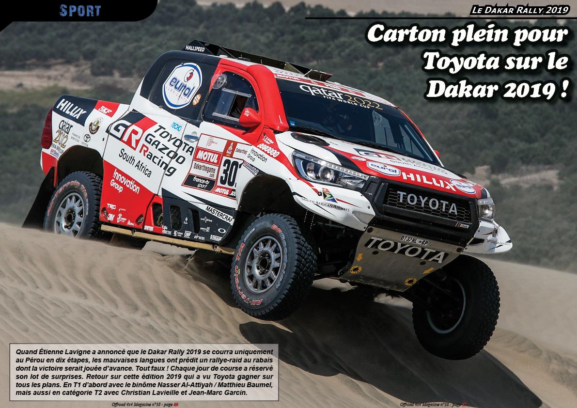 le Dakar Rally 2019
