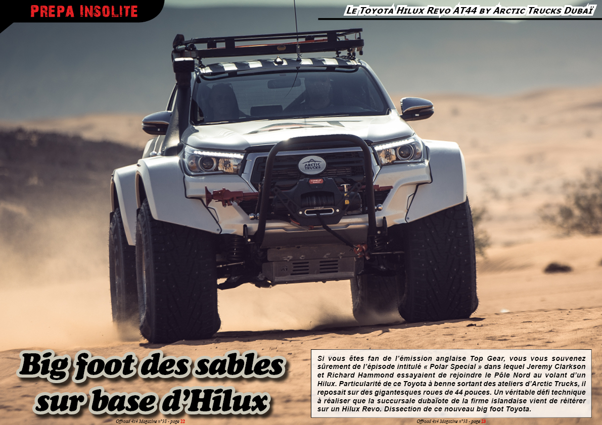 le Toyota Revo AT44 by Arctic Trucks Dubaï