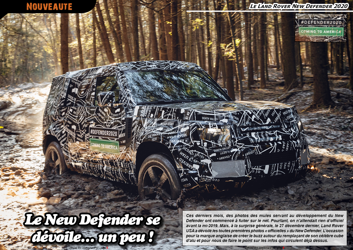 le Land Rover New Defender 2020