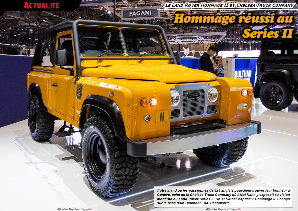 le LR Hommage II by Chelsea Truck Company
